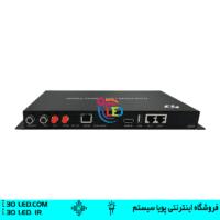 سندر باکس A4 محصول جدید Huidu با قابلیت های بسیار بالا دارای دو حالت آنلاین بدون نیاز به ویدیو پرسسور و آفلاین و پخش مستقیم از روی فلش